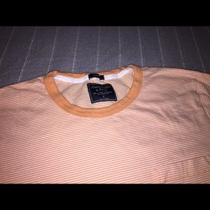 Abercrombie & Fitch Striped Pocket T-Shirt